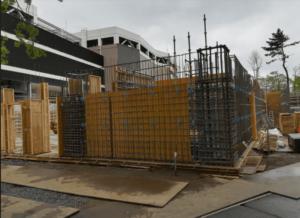 南町田のスヌーピーミュージアムの建設現場
