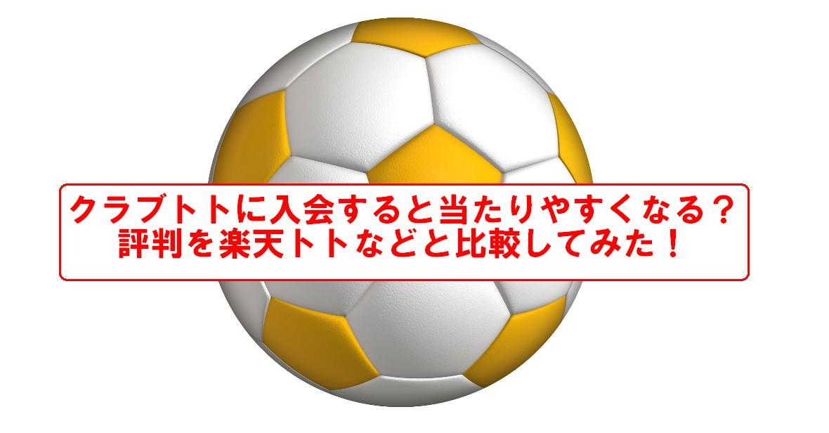 タイトル文付き、金のサッカーボール
